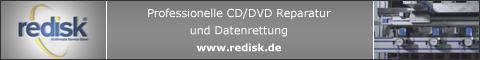 Professionelle CD/DVD Reparatur und Datenrettung - www.redisk.de